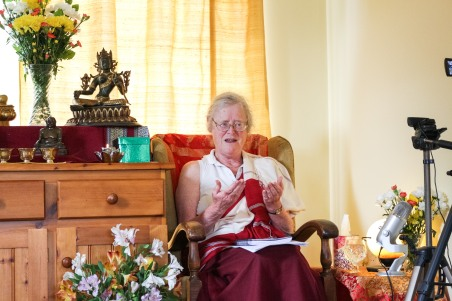 Meditation teacher Lama Shenpen