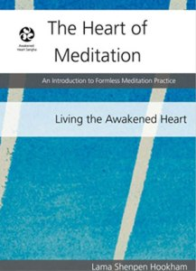 Learn how to meditate with the Heart of Meditation Book